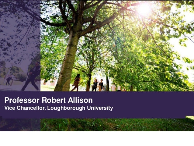 HPC Midlands Launch - Welcome Message from Robert Allison, Loughborough University Vice Chancellor