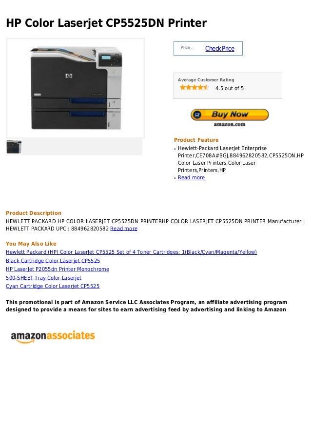 HP Color Laserjet CP5525DN Printer                                                                      Price :           ...