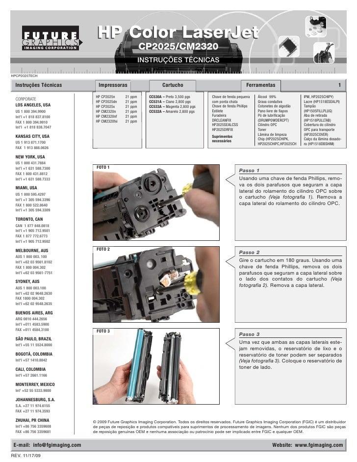 HP Color LaserJet        IMAGING CORPORATION                              CP2025/CM2320                                   ...