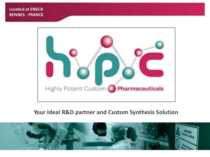 Located at ENSCR<br />RENNES - FRANCE<br />Your Ideal R&D partner and Custom Synthesis Solution <br />