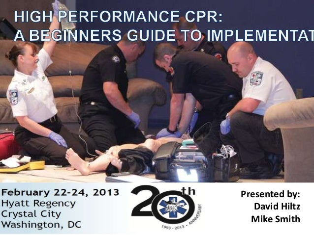 High Perfromance CPR for NCEMSF