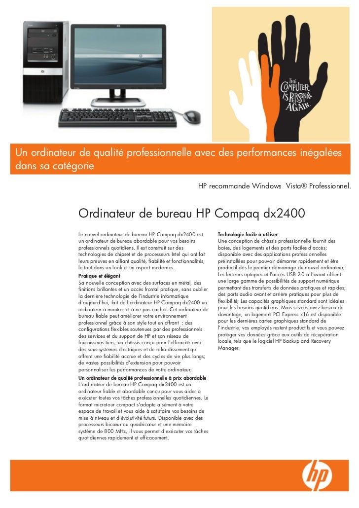 Un ordinateur de qualité professionnelle avec des performances inégaléesdans sa catégorie                                 ...