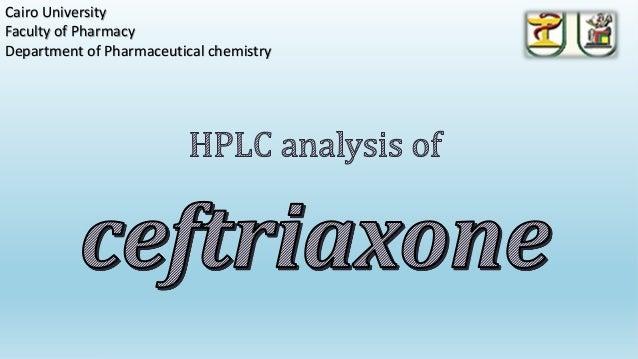 Cairo UniversityFaculty of PharmacyDepartment of Pharmaceutical chemistry