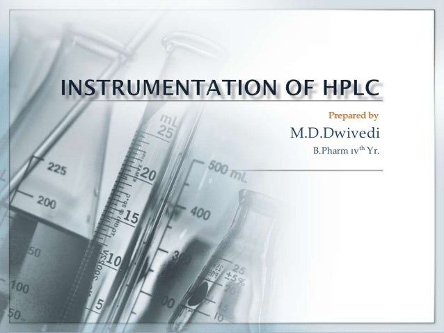 Prepared by  M.D.Dwivedi B.Pharm ɪvth Yr.