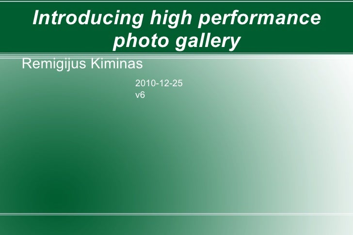 Hppg r819 gallery presentation, search by color introduced