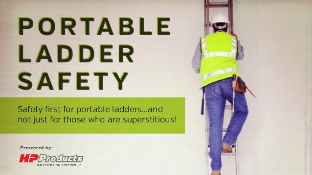 Portable ladder safety for Ladder safety tips