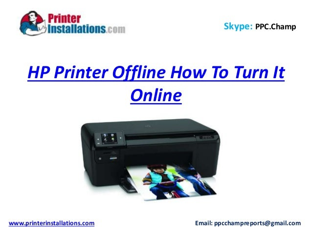 The setting allows you to save the documents you want to print when the printer isn't connected to your computer; when you change it back to online, the computer sends the documents to the printer. Changing from offline to online sends print jobs directly to your Hewlett-Packard printer without waiting.