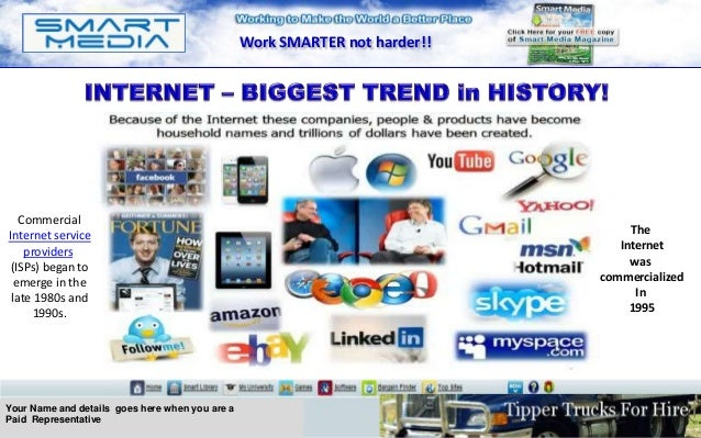 Smart Media Technologies | Home Page Pays Full Product and Business Opportunity Presentation