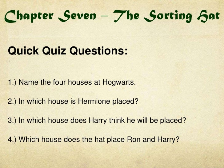 Harry Potter Book Quiz : Harry potter book quick quizzes and do now tasks
