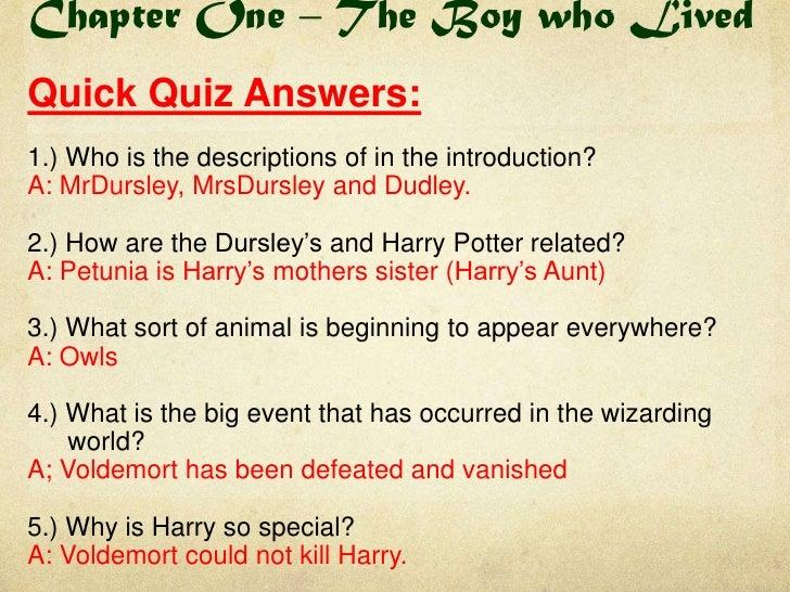 Harry Potter Book Knowledge Quiz : Quelques liens utiles