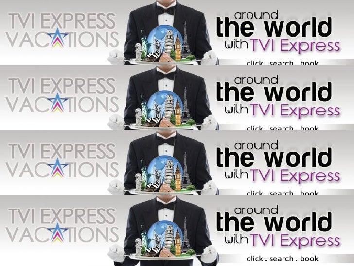 Presentasi Bisnis: TVI Express