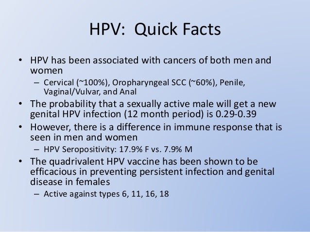 The gallery for --> Hpv In Men