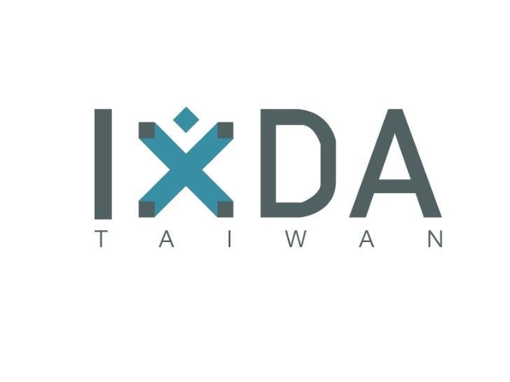 IxDA Taiwan event design