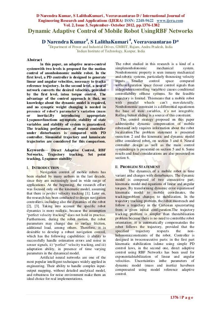 D Narendra Kumar, S LalithaKumari , Veeravasantarao D / International Journal of       Engineering Research and Applicatio...