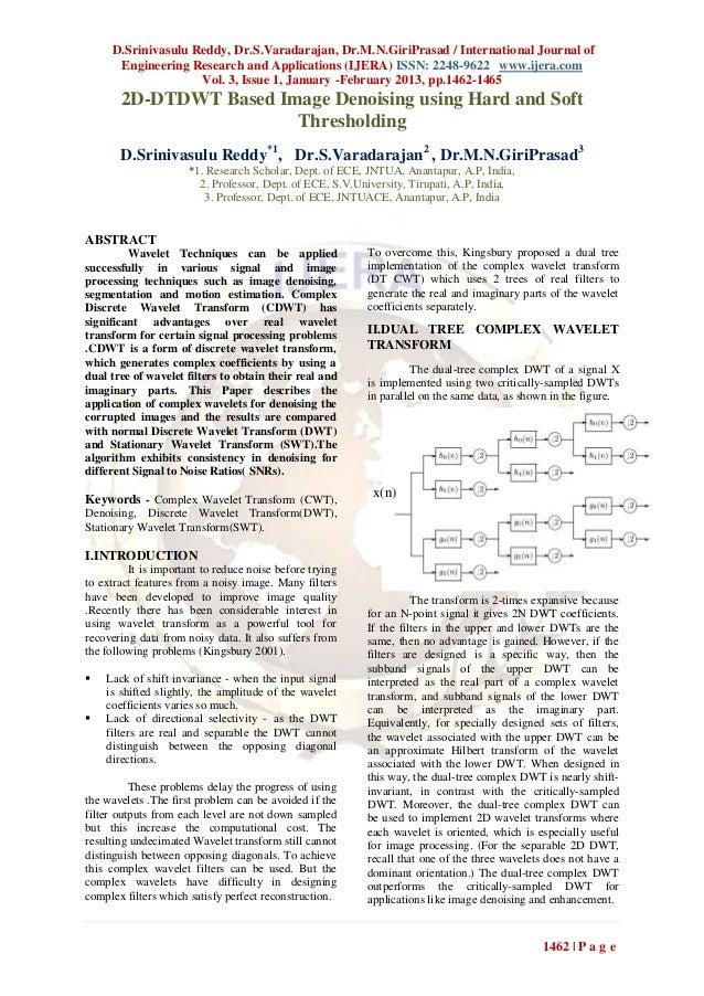 D.Srinivasulu Reddy, Dr.S.Varadarajan, Dr.M.N.GiriPrasad / International Journal of      Engineering Research and Applicat...