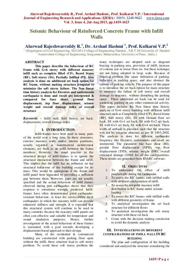 Alurwad Rajeshwarreddy R., Prof. Arshad Hashmi., Prof. Kulkarni V.P. / International Journal of Engineering Research and A...