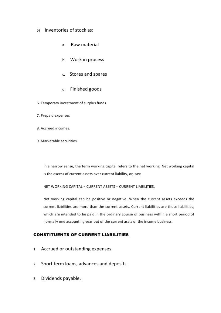 Help with A level business coursework..fixed capital? why is working capital important? thanks you?
