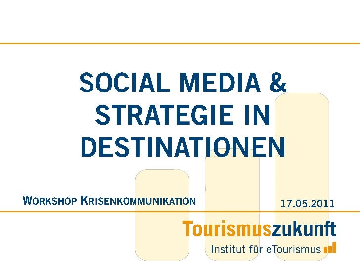 Hr. Daniel Amersdorffer (Tourismuszukunft): Strategische Ansätze in Destination Management Organisationen zur Planung und Umsetzung von Social Media – Fallbeispiele und Hintergründe