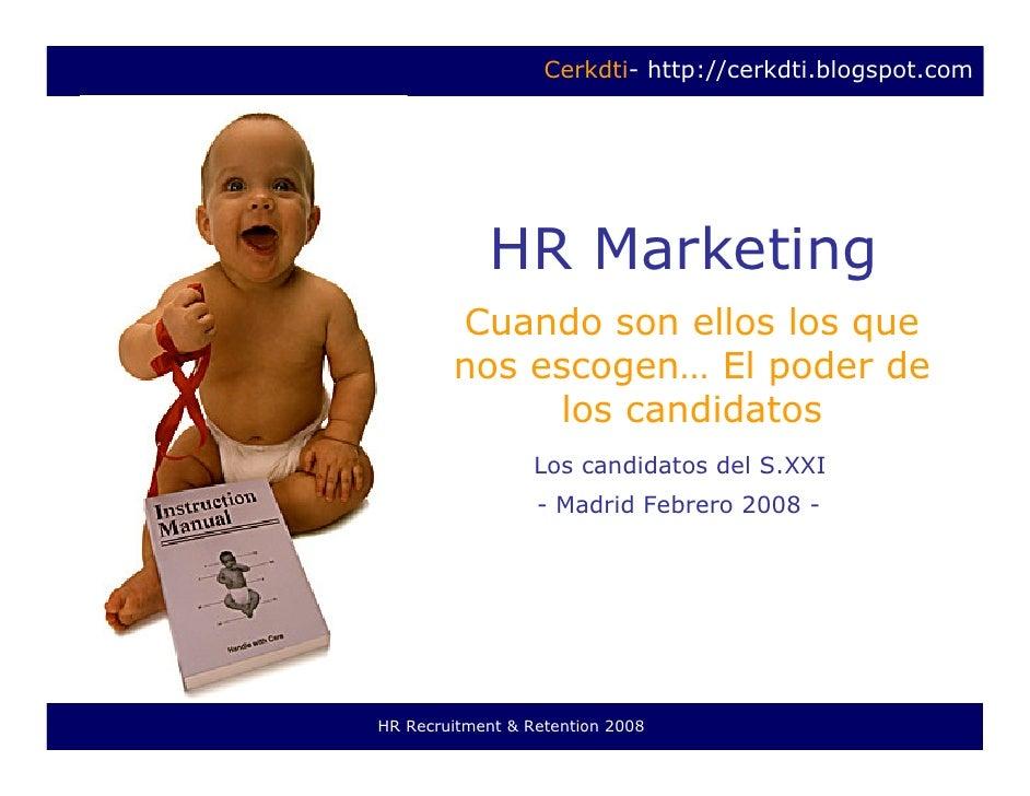 Hr Marketing- Cuando Ellos Deciden