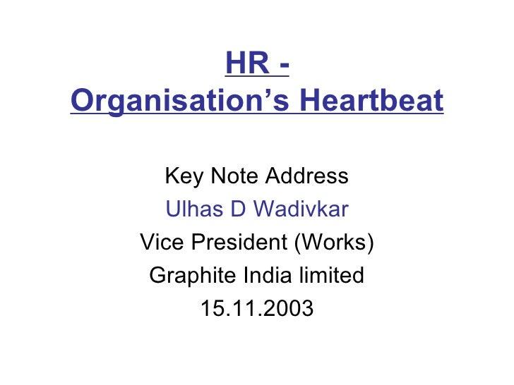 Hr   Organisation Heartbeat