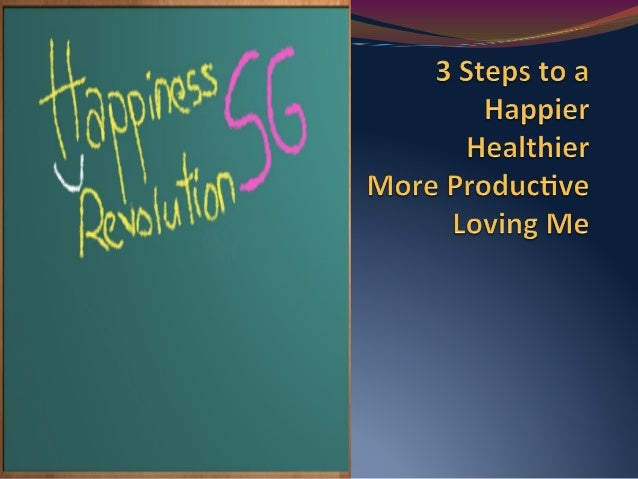Happiness Revolution Webinar 1