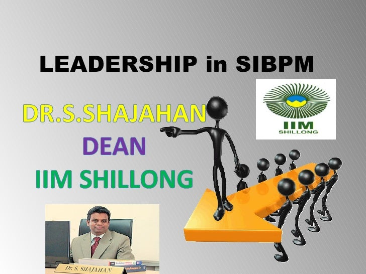 project leadership in SIBPM