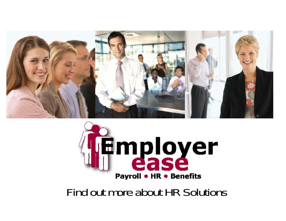 Find out more about HR Solutions