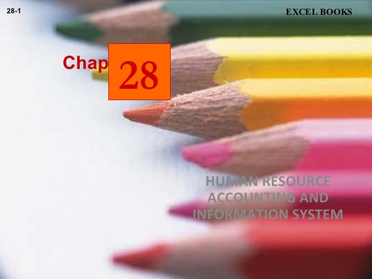 Chapter HUMAN RESOURCE ACCOUNTING AND INFORMATION SYSTEM EXCEL BOOKS 28-1 28