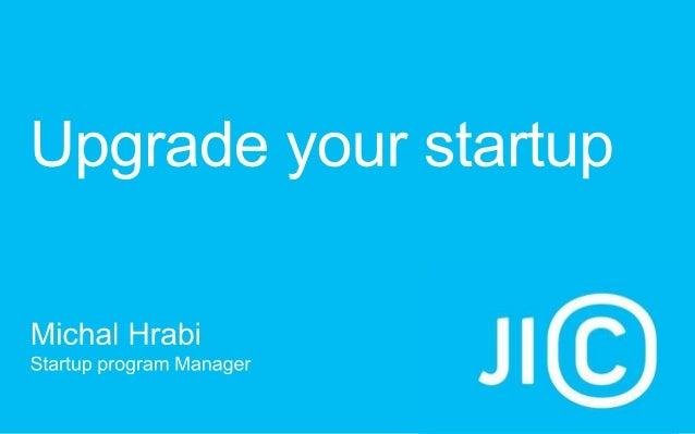 Michal Hrabí: Startup Summit 2013