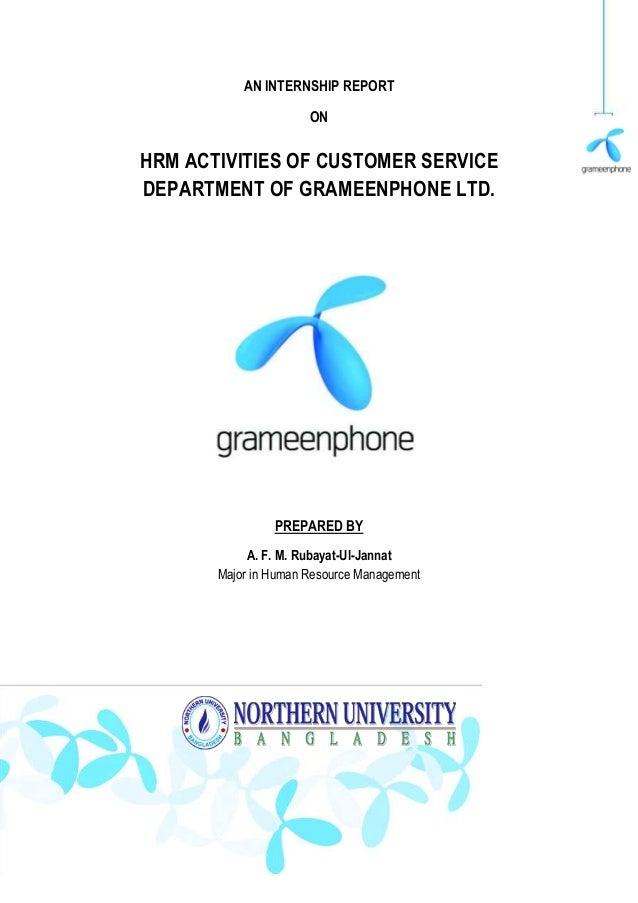 HR activities of CSD of GP ltd.