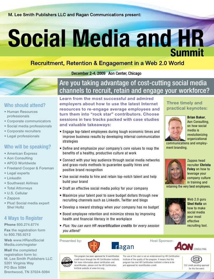 Are you taking advantage of cost-cutting social media                                channels to recruit, retain and engag...