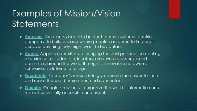most inspiring vision statements