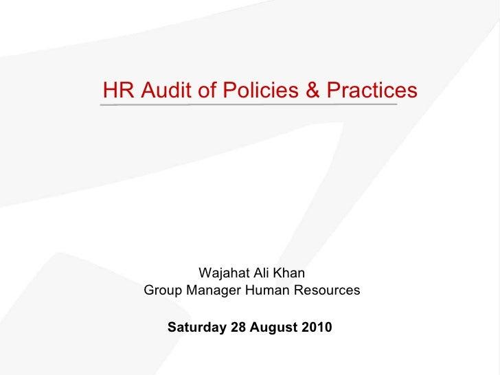 Hr Audit Presentation For Linkedin