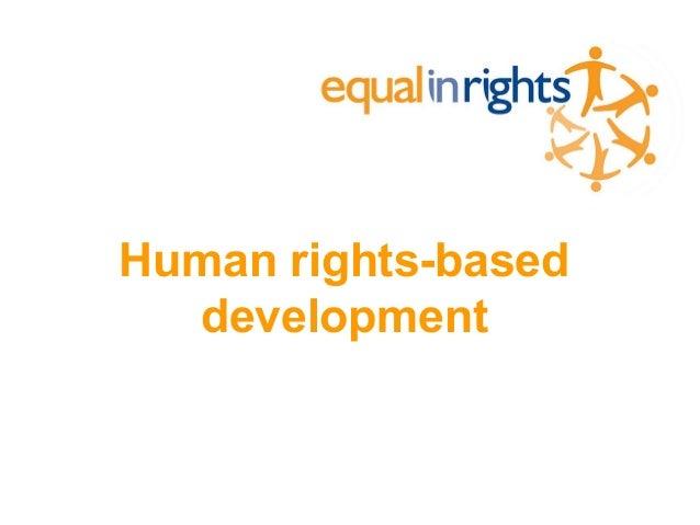 Human rights-based development