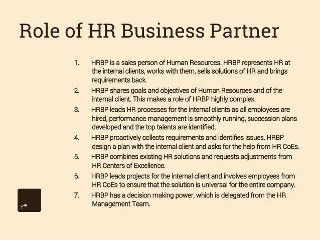 what is a human resources business partner   giant patio