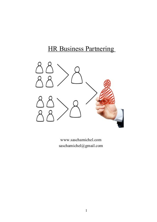 HR Business Partnering    www.saschamichel.com   saschamichel@gmail.com                1