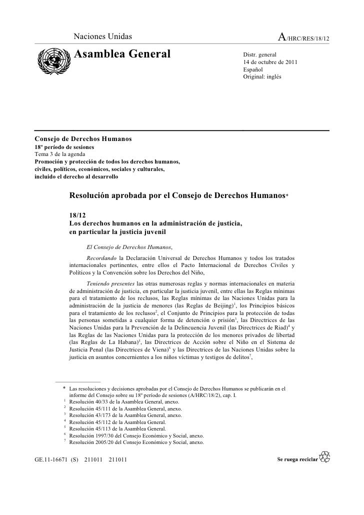 Hrc18 12 human-rightsandadministrationjustice_2011_sp