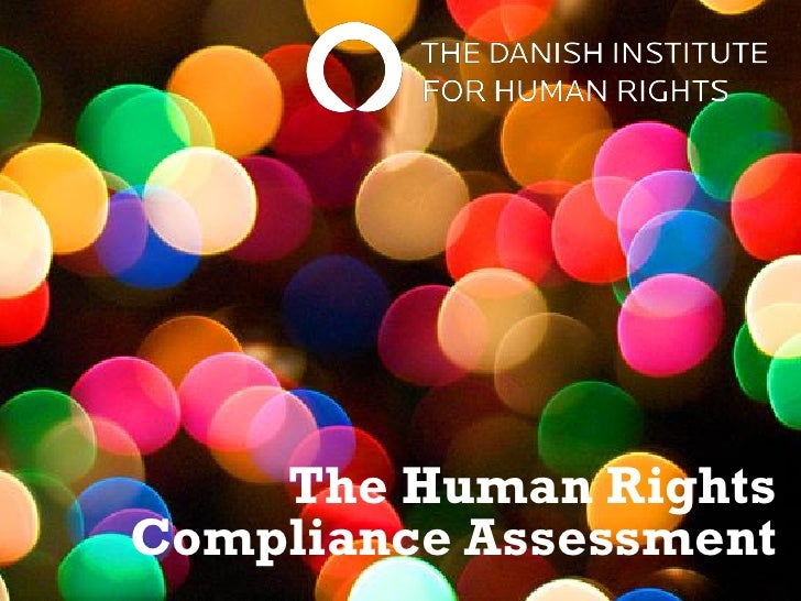 Human Rights Compliance Assessment Presentation