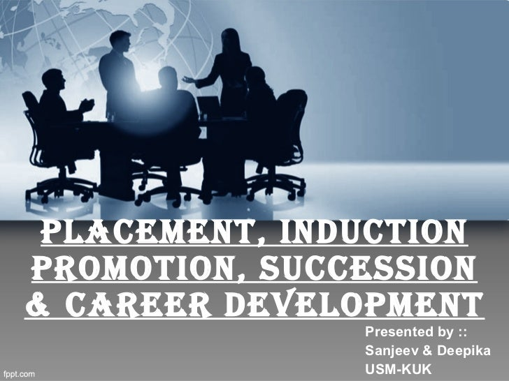 HRD-- placement to career development process