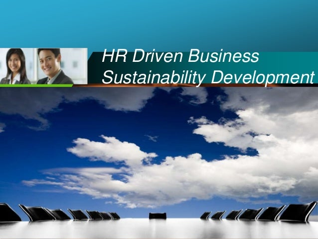 Company LOGO HR Driven Business Sustainability Development