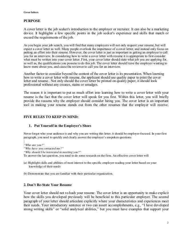 Financial Analyst cover letter, finance, example, sample