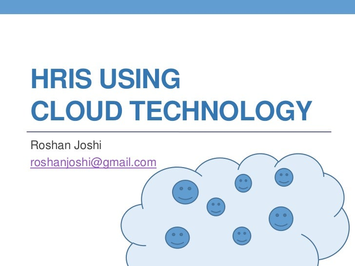 Human Resources in the Cloud