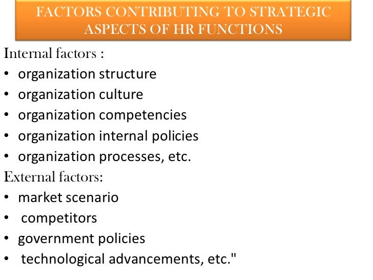 reflective summary of strategic hrm Strategic personnel planning  a summary table of the results of the  1 the paper is a revised and updated version of the paper contemporary issues on hrm and.
