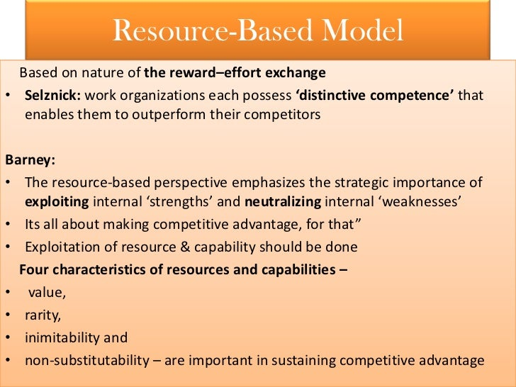 compare and contrast strategic resources and competencies Compare and contrast strategic resources and competencies identify what role, if any, licensed health care providers play in helping a health care organization.