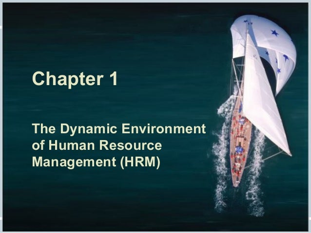 Fundamentals of Human Resource Management, 10/e, DeCenzo/Robbins Chapter 1 The Dynamic Environment of Human Resource Manag...