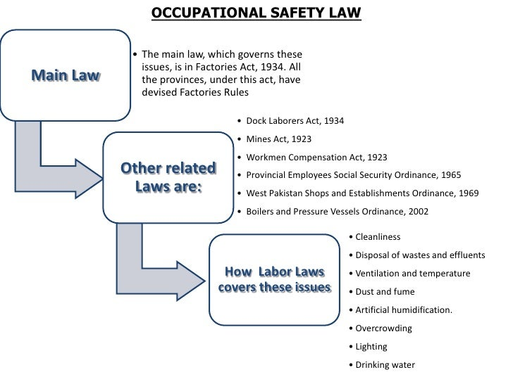 workplace health and safety legislation essay This work health and safety legislation is  exposure to biological and chemical contaminants and workplace stress notably, in the health  work health and safety.