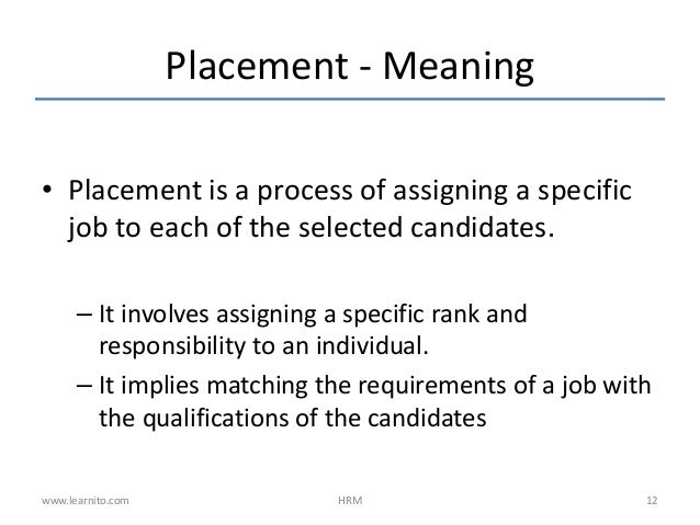 definition of recruitment and selection process essay