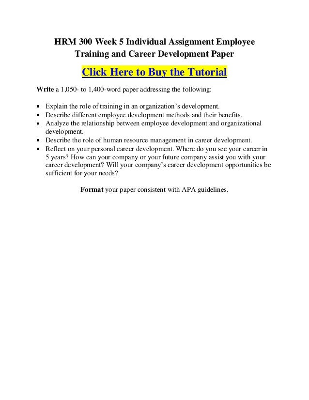 interclean career development plan iii