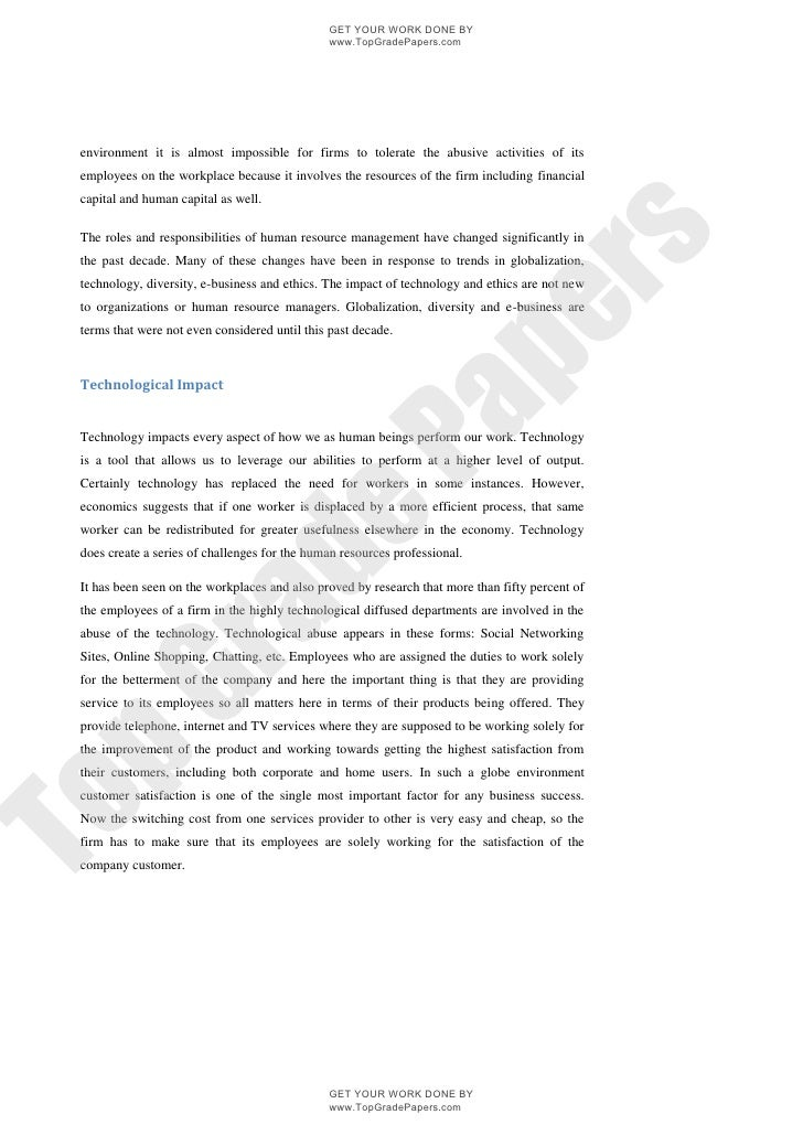 Internet and technology essay