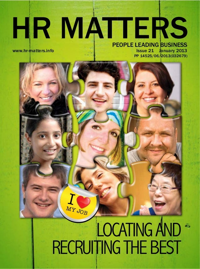 """""""What Does It Take to Locate and Recruit the Best? in HR Matters Magazine"""
